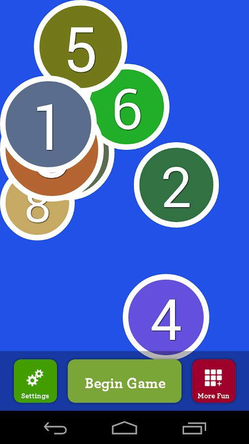 Counting Numbers Infant App- screenshot
