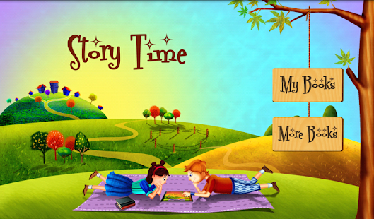 Story Time For Kids mobile app