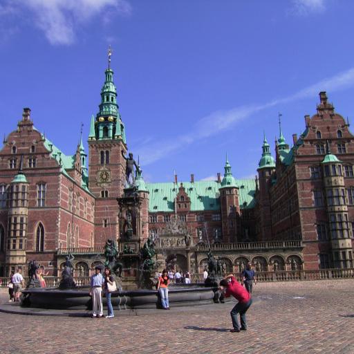 旅游のデンマーク:フレデリクスボー城(DK001) LOGO-記事Game