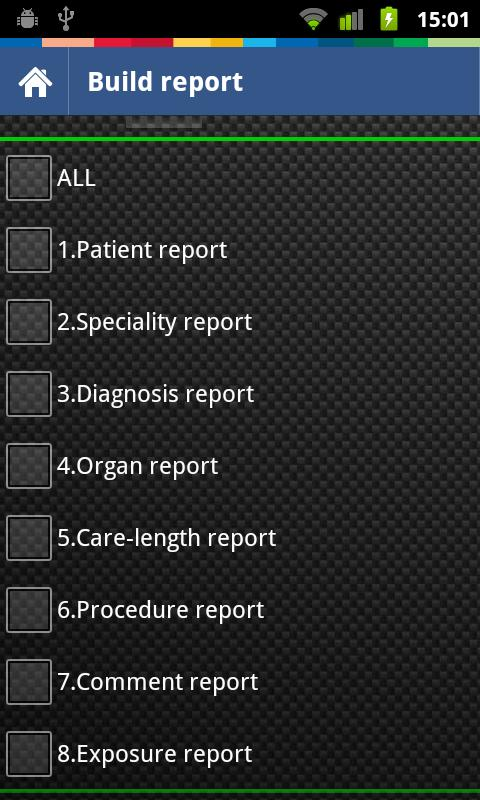 Intensive Care Logbook - screenshot