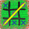 Tic Tac Toe Graffiti icon