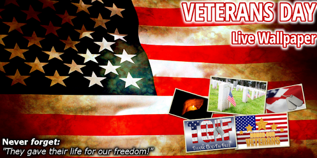 Veterans Day Live Wallpaper HD - screenshot thumbnail