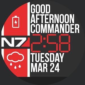 Commander watch face apk mania