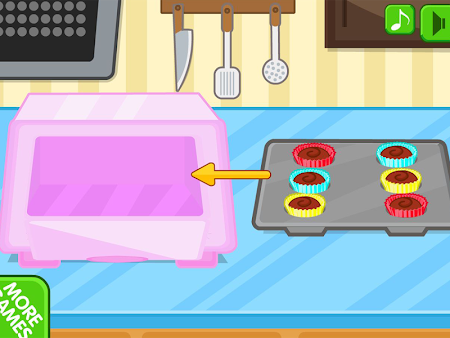 Chocolate cupcake maker 1.0.8 screenshot 560505