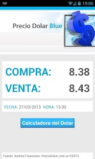 Precio Dolar Blue- screenshot thumbnail