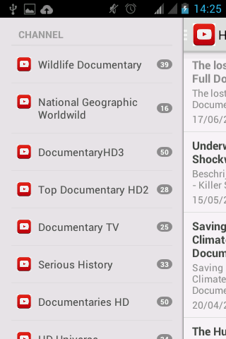 Documentary Films- screenshot