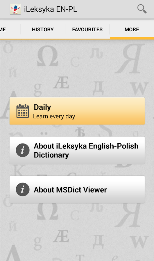 iLeksyka English-Polish Trial- screenshot