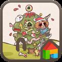 Zombies dodol launcher theme icon