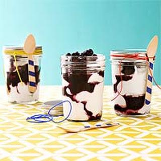 Yogurt & Blueberry Parfaits.