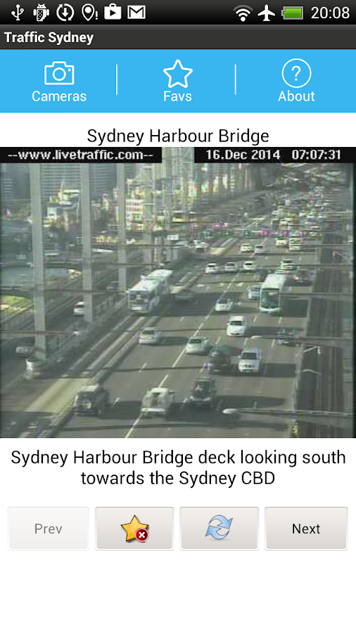 Traffic Cam Sydney FREE - Android Apps on Google Play