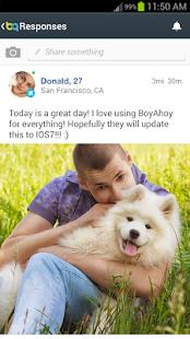 BoyAhoy: gay chat, seznámení - náhled