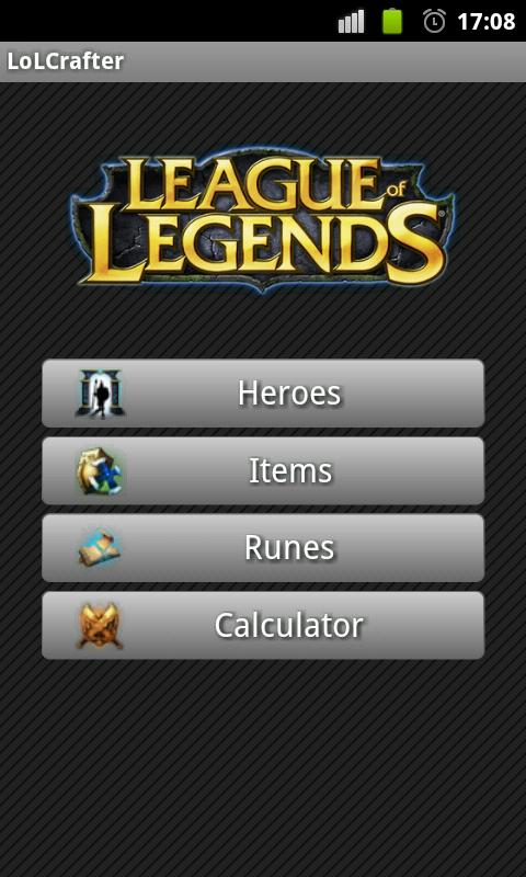 League of Legends Crafter - screenshot