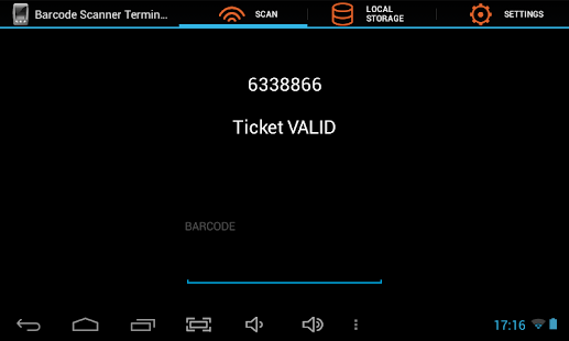 Barcode Scanner Terminal- screenshot thumbnail