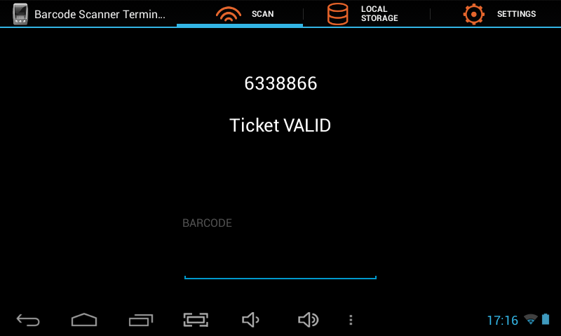 Barcode Scanner Terminal- screenshot