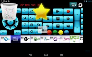 Screenshot of Remote for Sony TV/BD WiFi&IR