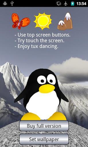 Penguin Dancing Tux Lite