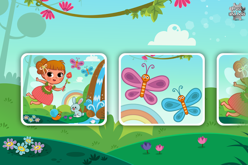 适于儿童的童话故事拼图 –教育版