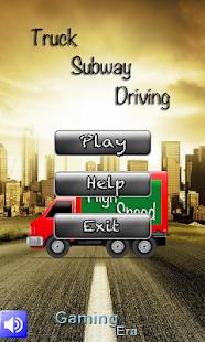 Subway Truck Driving
