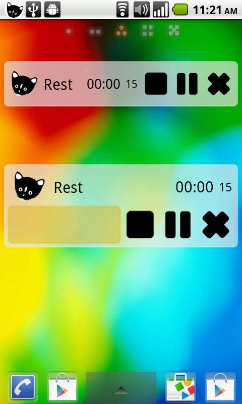 TimeCat(time tracker) - screenshot