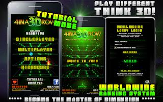Screenshot of 4 IN A 3D ROW LITE