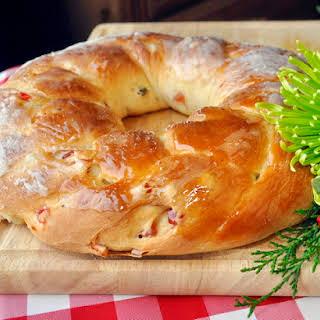Christmas Fruit Bread.