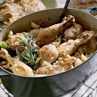 Chicken with 40 Cloves of Garlic