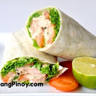 Tuna Salad Wrap.