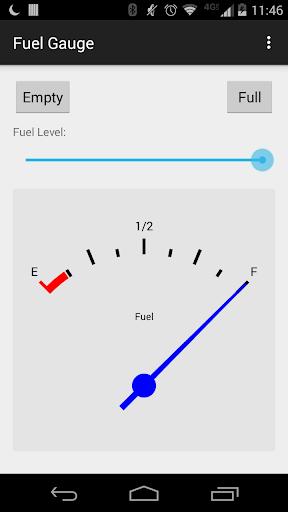 Fuel Gauge Demo Application