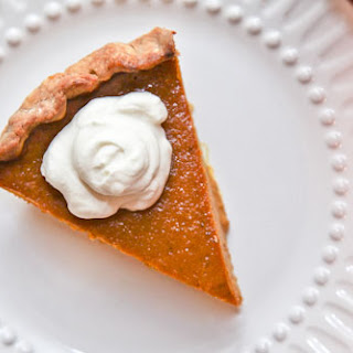 Caramel Spice Super Pumpkiny Pumpkin Pie with Brown Butter Crust