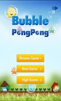Screenshot of Bubble PongPong the same color
