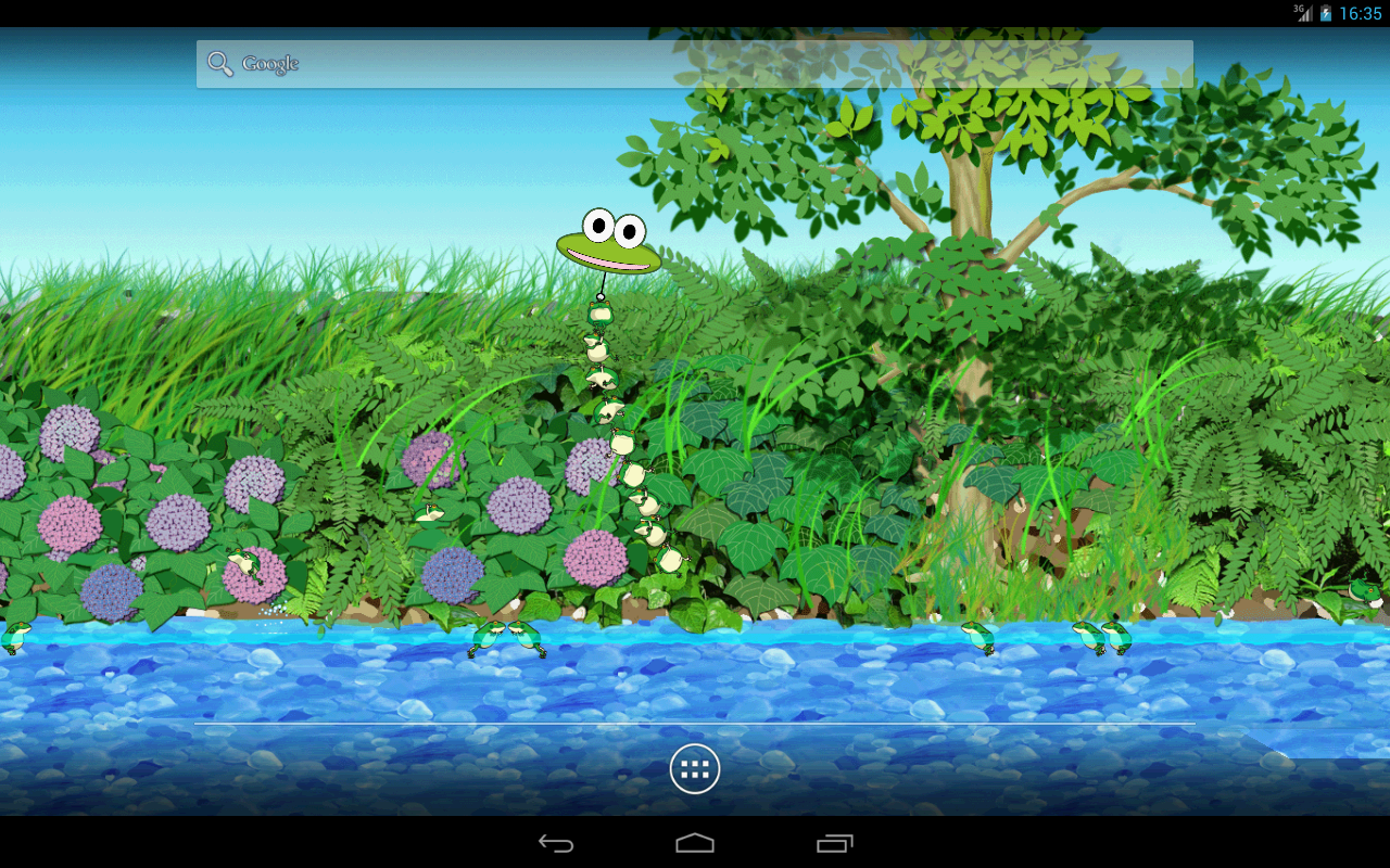 Jumping frogs- screenshot