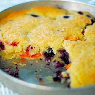Apricot-Blueberry Cake