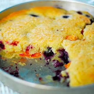 Apricot-Blueberry Cake.