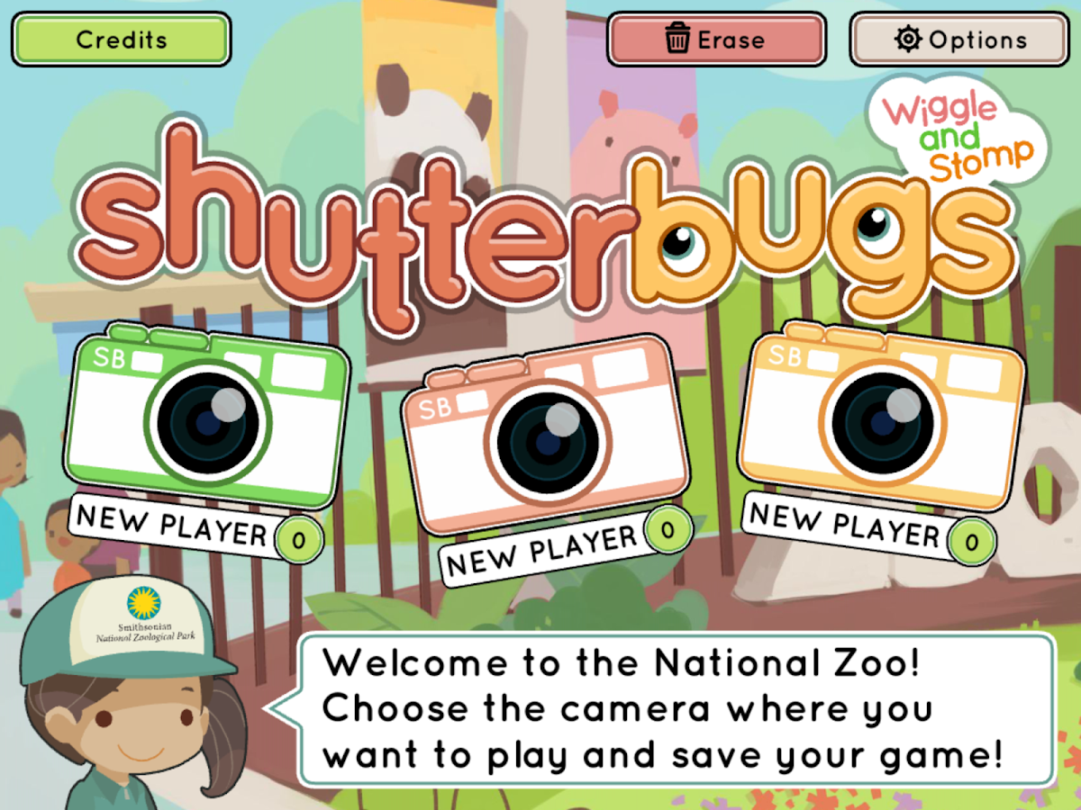 Shutterbugs: Wiggle & Stomp- screenshot