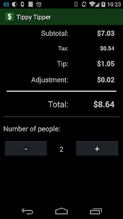 Tippy Tipper (Tip Calculator) - screenshot thumbnail