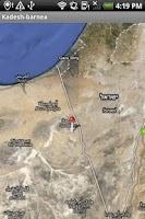 Screenshot of Bible Names with Maps