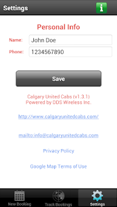 Calgary United Cabs screenshot 5
