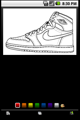Sneaker Coloring Book Download Air Jordan Google Play Store Revenue