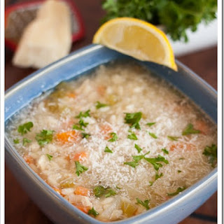 Lemon-Parmesan Orzo Chicken Soup