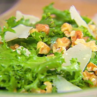 Chicory Salad with Walnuts and Parmesan Recipe