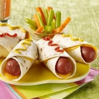 Hot Dog Roll Up