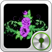 GO Locker Glowing Flowers