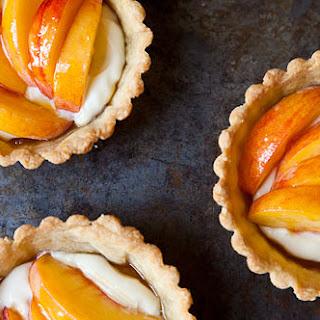 Fresh Peach Tartlets