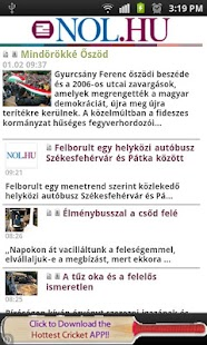 All Newspapers of Hungary-Free - screenshot thumbnail