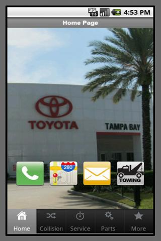 Toyota of TampaBay - screenshot