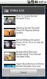 GymBook Fitness & Workout Log - screenshot thumbnail