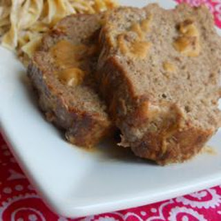 Meatloaf with Sour Cream Sauce.