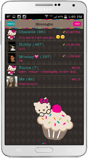 Sweet On You Go SMS Pro Theme
