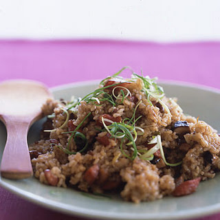 Sticky Rice with Chinese Sausage.