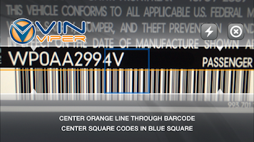 Screenshot of VIN Viper VIN Scanner
